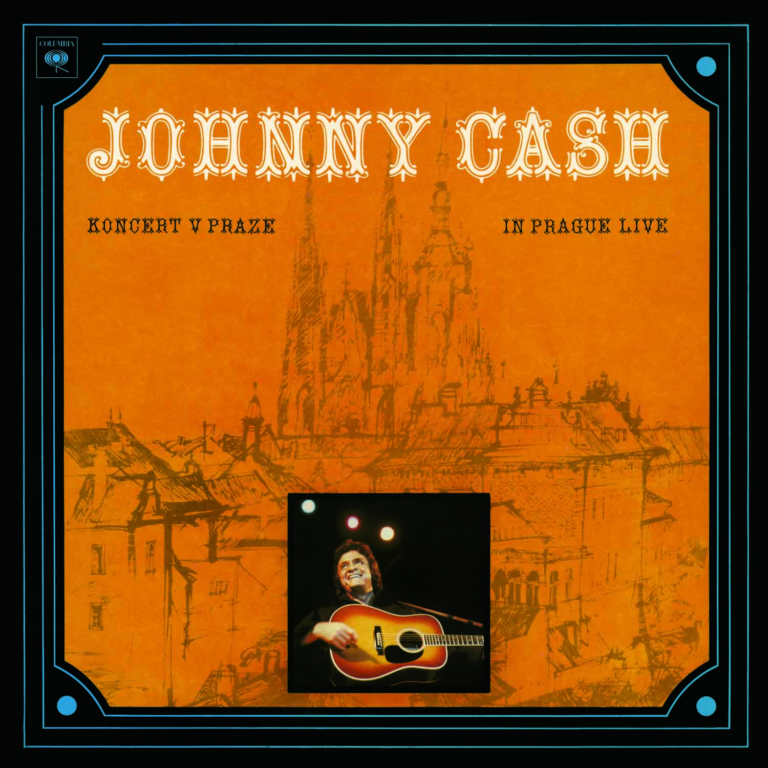 vinyl LP JOHNNY CASH Koncert V Praze (In Prague Live)