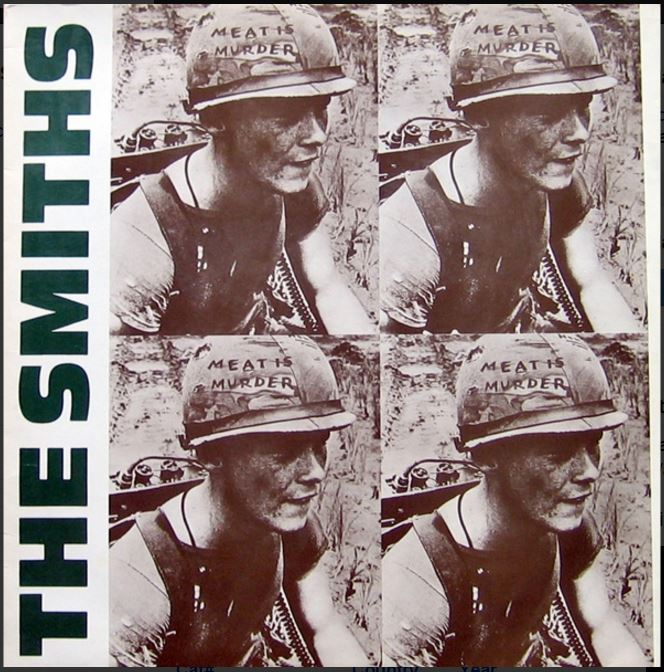 vinyl LP THE SMITHS Meat is Murder