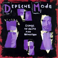 vinyl LP DEPECHE MODE Songs Of Faith and Devotion