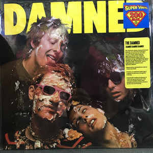 vinyl LP THE DAMNED Damned Damned Damned