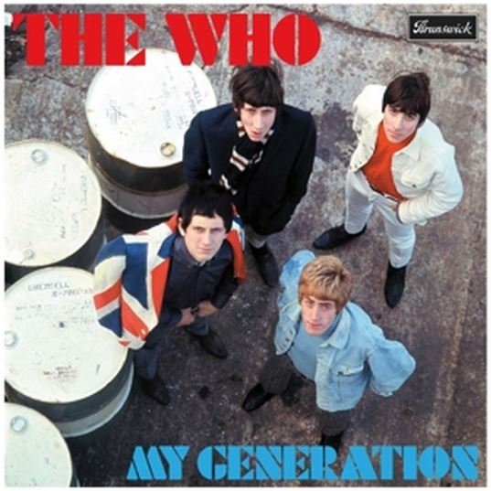 vinyl 3LP THE WHO My Generation