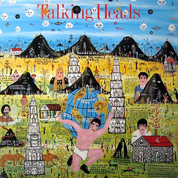 vinyl LP TALKING HEADS Little Creatures
