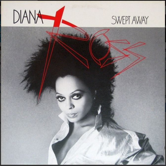 vinyl LP DIANA ROSS Swept Away