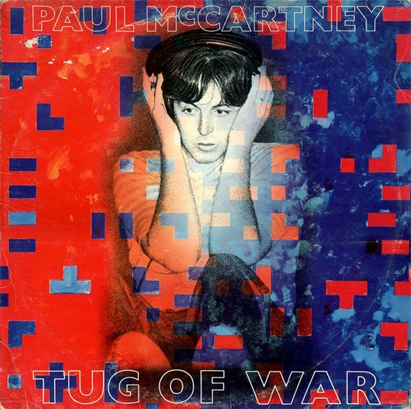 vinyl LP PAUL McCARTNEY Tug Of War