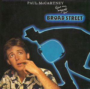 vinyl LP PAUL McCARTNEY Give My Regards To Broad Street