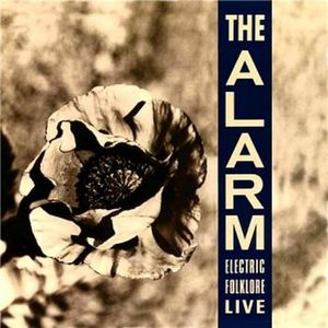 vinyl LP THE ALARM Electric Folklore Live