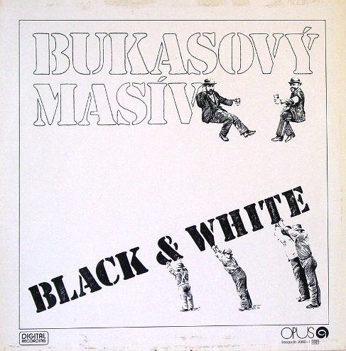 vinyl LP BUKASOVÝ MASÍV Black and white