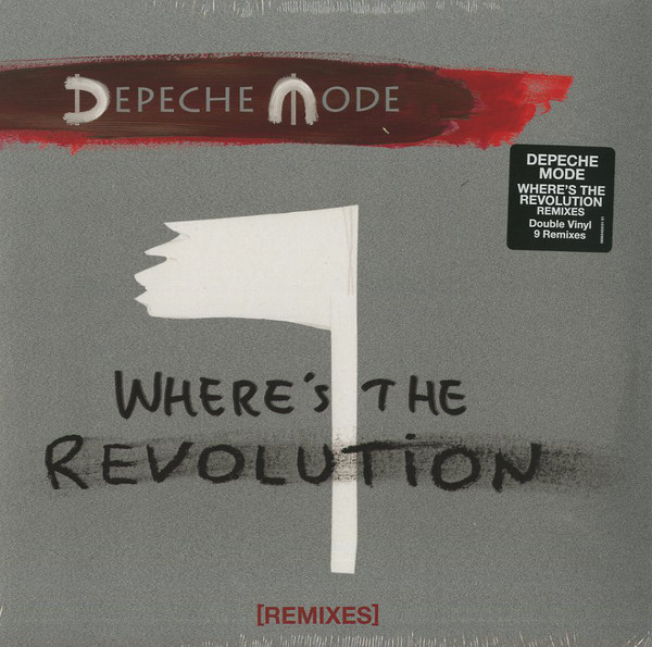 "vinyl 2x12""SP DEPECHE MODE Where´s The Revolution"