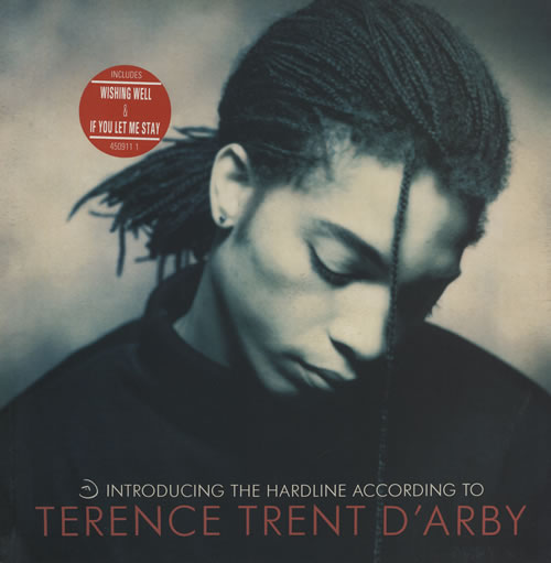 vinyl LP TERENCE TREND D´ARBY Introducing The Hardline According To