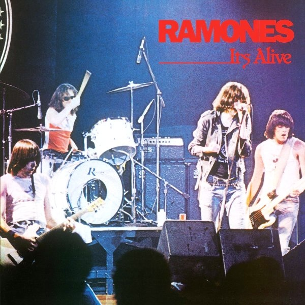 vinyl 2LP RAMONES It´s alive
