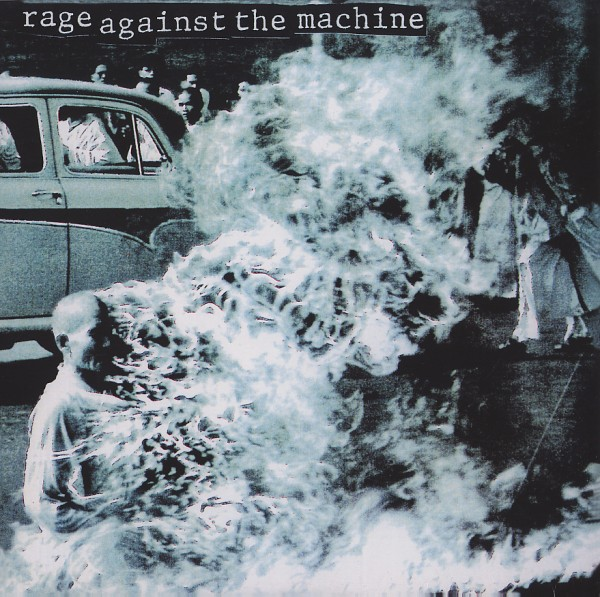 vinyl LP RAGE AGAINST THE MACHINE  Rage Against The Machine