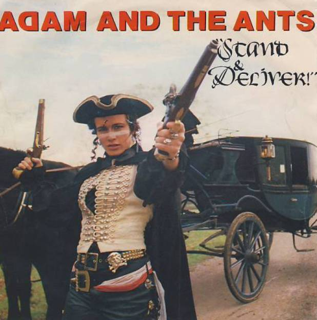 "vinyl 7""SP ADAM and THE ANTS Stand and Deliver/Beat my Guest"