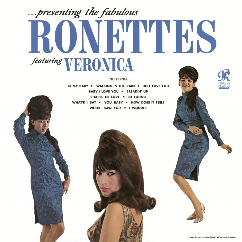 vinylova LP THE RONETTES ...presenting The Fabulous Ronettes