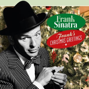 vinyl LP FRANK SINATRA Frank's Christmas Greetings