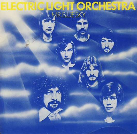 "vinyl 7""SP ELECTRIC LIGHT ORCHESTRA Mr.Blue Sky"