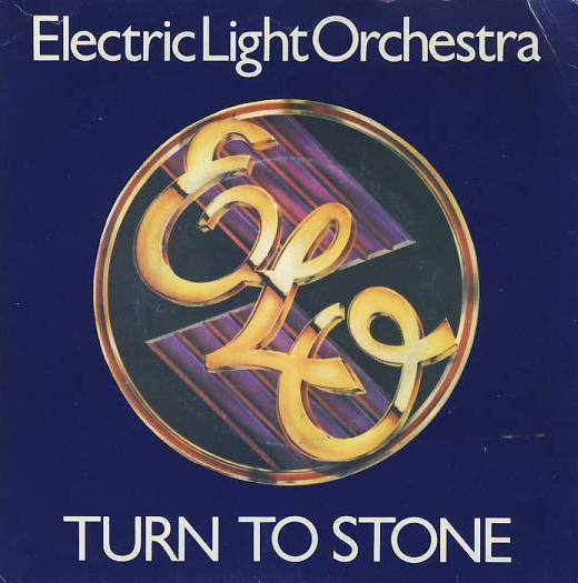 "vinyl 7""SP ELECTRIC LIGHT ORCHESTRA Turn To Stone"