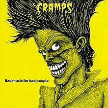 vinyl LP THE CRAMPS Bad Music For Bad People