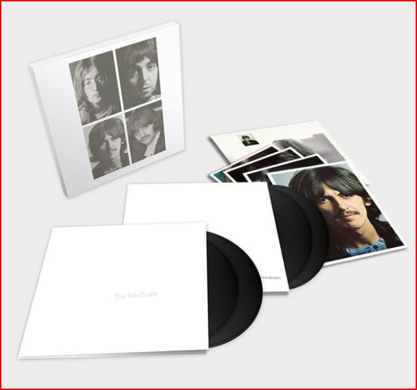vinyl 4LP THE BEATLES White Album