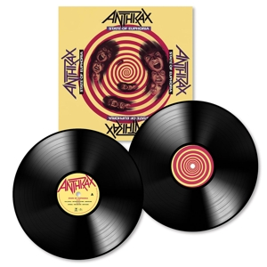 vinyl 2LP ANTHRAX State of Euphoria