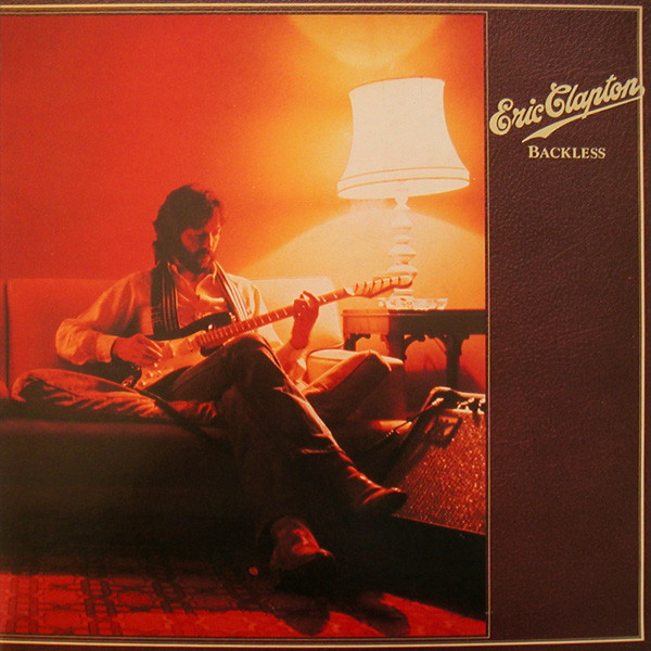 vinyl LP ERIC CLAPTON Backless