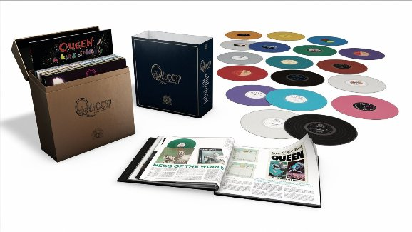 vinyl box 18LP QUEEN Complete Studio Album