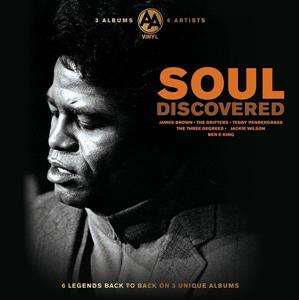vinyl 3LP SOUL DISCOVERED (various artists)
