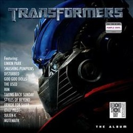 vinyl LP SOUNDTRACK Transformers