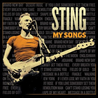 vinyl 2LP STING MY SONGS