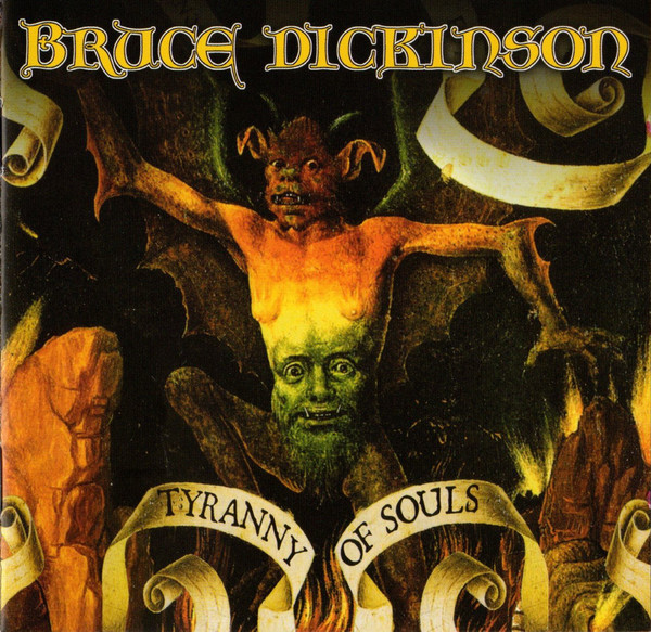 vinyl LP DICKINSON, BRUCE TYRANNY OF SOULS
