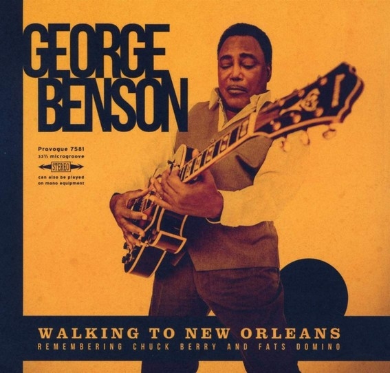vinyl LP GEORGE BENSON Walking To New Orleans:Remembering Chuck Berry and Fats Domino