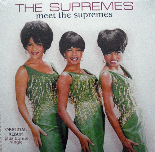 vinyl LP The Supremes ‎– Meet The Supremes
