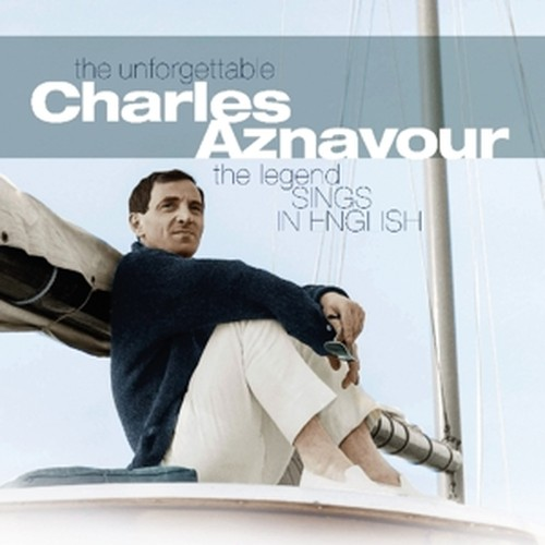 vinyl LP  Charles Aznavour ‎– The Legend Sings in English
