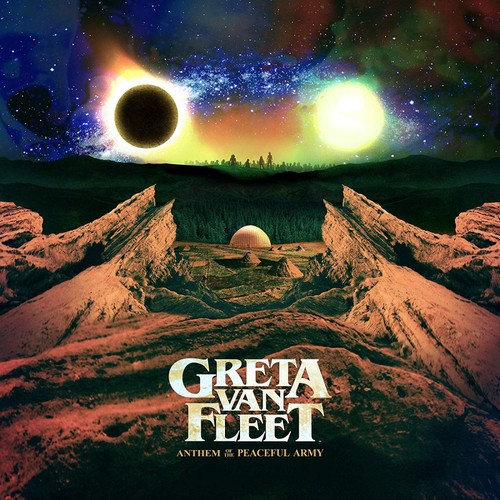vinyl LP Greta Van Fleet Anthem Of The Peaceful Army