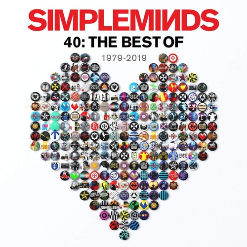 vinyl 2LP SIMPLE MINDS - 40: THE BEST OF 1979-2019