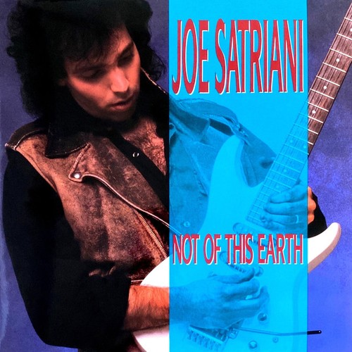 vinyl LP Joe Satriani ‎– Not Of This Earth