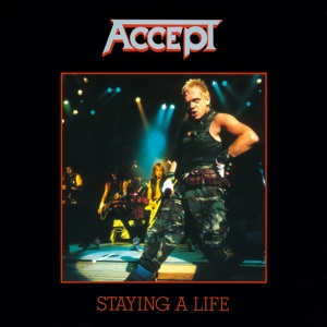 vinyl 2LP ACCEPT Staying Alive ( limited anniversary edition )