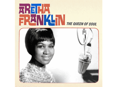 vinyl LP ARETHA FRANKLIN The Queen of Soul
