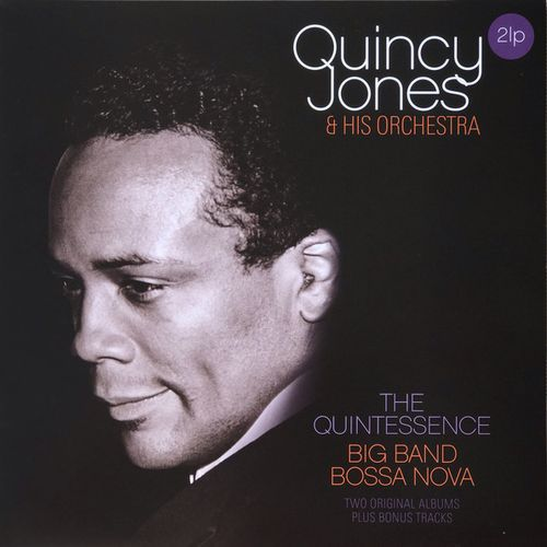 vinyl 2LP Quincy Jones & Orchestra Quintessence/Big Band Bossa Nova