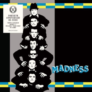 "vinyl 2x7"" Madness Work, Rest & Play EP - 40th anniversary edition"