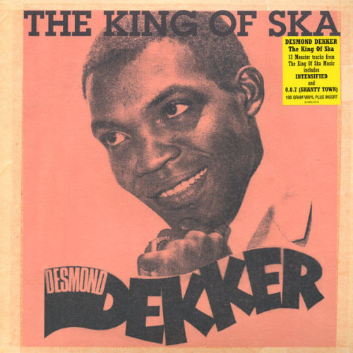 vinyl LP DESMOND DEKKER The King Of Ska