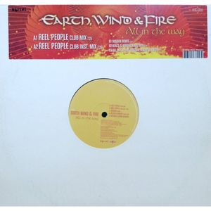 "vinyl 12"" MAXI Earth, Wind & Fire All In the Way"
