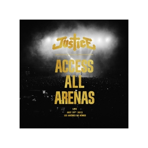 vinyl 2LP Justice Access All Arenas Live