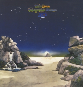 vinyl 2LP YES TALES FROM TOPOGRAPHIC OCEANS