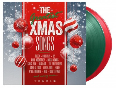 vinyl 2LP VARIOUS THE GREATEST XMAS SONGS (Transparent green & red vinyl)
