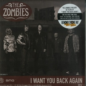 "vinyl 7"" ZOMBIES, THE RSD - I WANT YOU BACK AGAIN (7')"