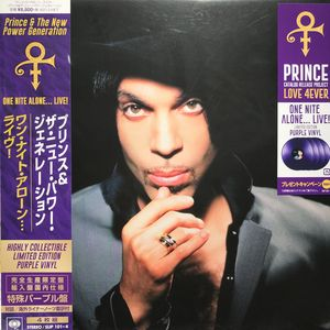 vinyl 4LP Prince & The New Power Generation One Nite Alone... Live! (Japan Import)