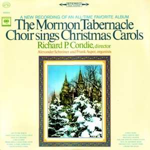 vinyl LP Mormon Tabernacle Choir Sings Christmas Carols