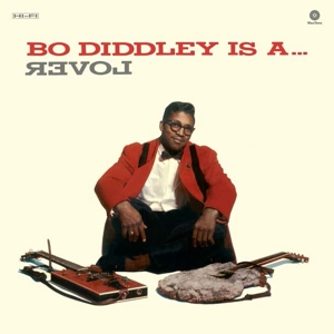 vinyl LP Bo Diddley Is A Lover