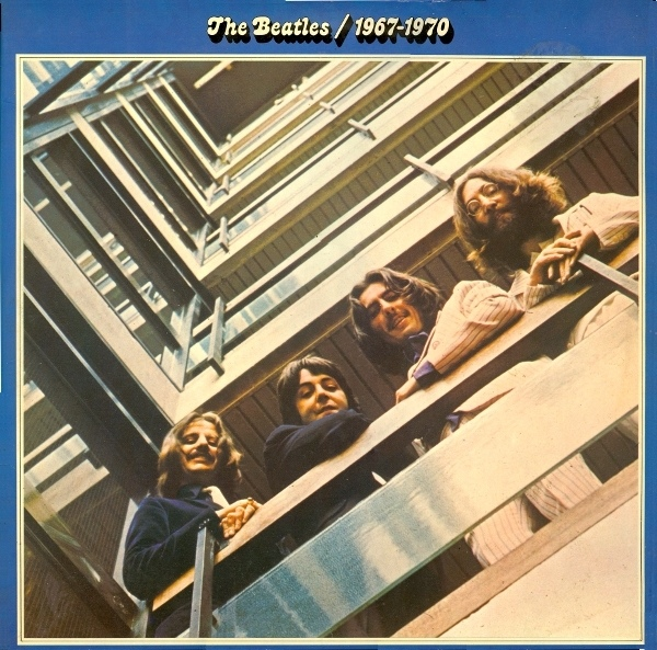 vinyl 2LP THE BEATLES  1967 - 1970