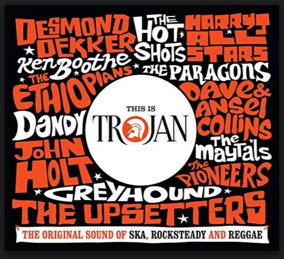 vinyl 6LP set THIS IS TROJAN original Sound Of Ska, Rocksteady and Reggae